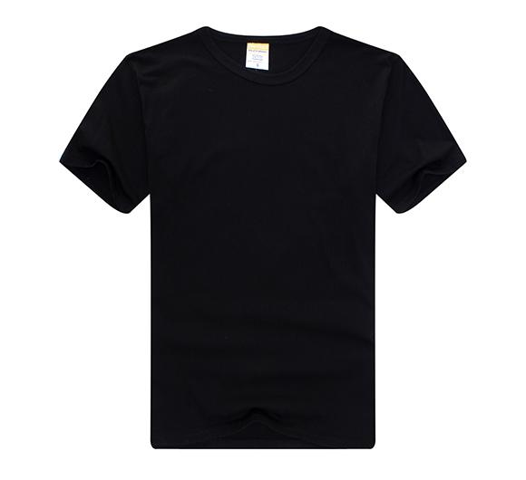 纯色T恤衫定制