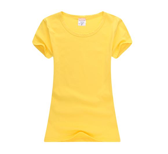 天津纯色T恤衫定做