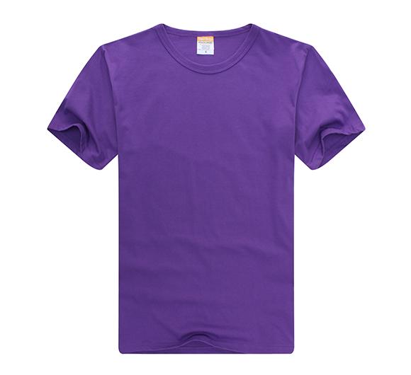 纯色T恤定做