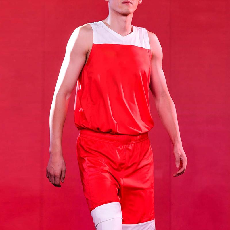 篮球服定制球衣短裤套装无袖运动