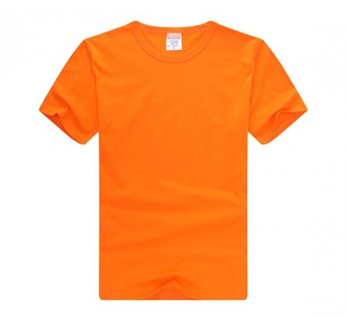 纯色T恤定制