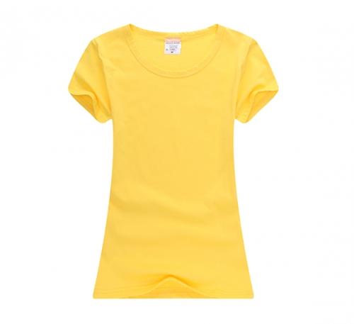 纯色T恤衫定做