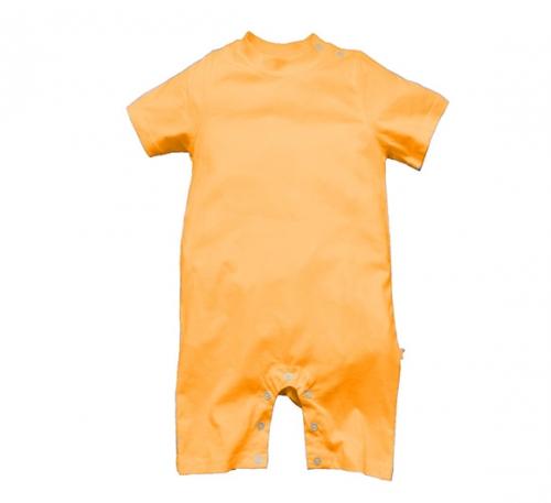 橘色精棉哈衣