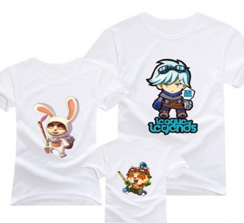广州优质家庭套装T恤定做