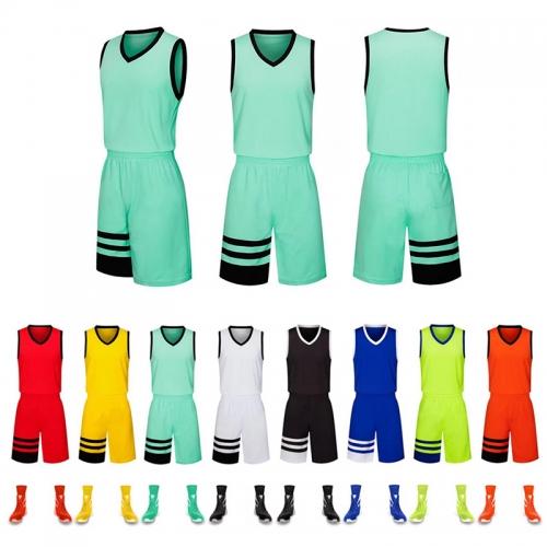 篮球服套装男 成人童装