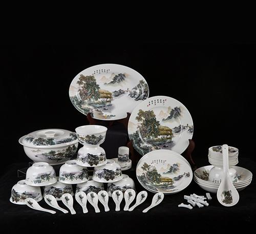 中国精美礼品瓷碗