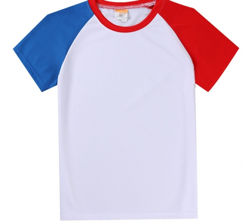 红蓝T恤短袖